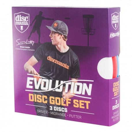 Discmania Evolution Geo line Beginner Set