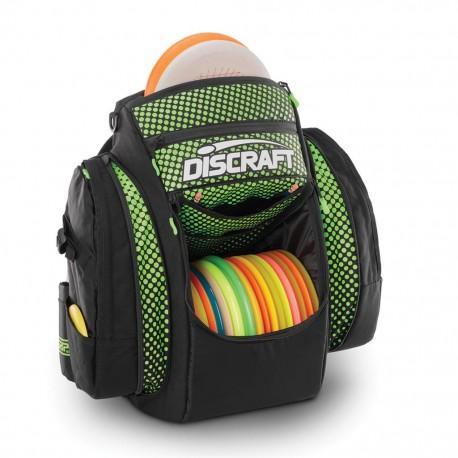 GRIP eq BX2 Discraft Disc Golf Bag Black and Green