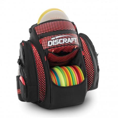 GRIP eq BX2 Discraft Disc Golf Bag Black and Red