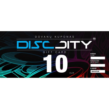 DiscCity Gift Card