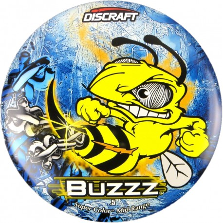 Discraft Full Foil Buzzz SuperColor - Chains Blue Freeze