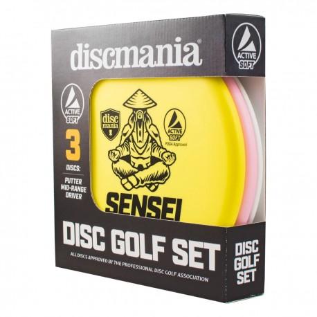 Discmania Active Base-line Soft Beginner Set