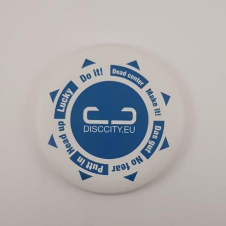 DiscCity Mini marker Positive vibes