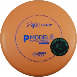Prodigy ACE Line - GLOW DuraFlex P Model S Bottom stamp - Cale Leiviska 2021