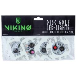 Viking discs - Disc led, 4pcs, multicolor